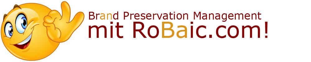 Brand Preservation Management mit RoBaic Roger Balmer Internet Consulting