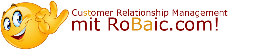 CRM - Customer Relationship Management mit RoBaic Roger Balmer internet Consulting