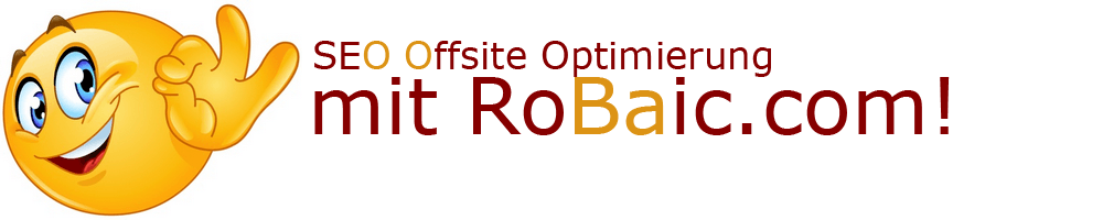Offsite Optimierung mit RoBaic Roger Balmer Internet Consulting