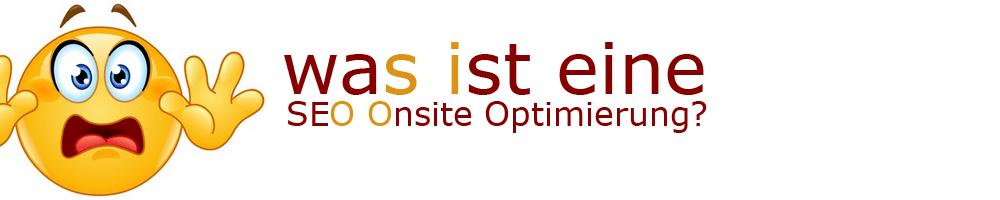 Was ist eine Onsite Optimierung?
